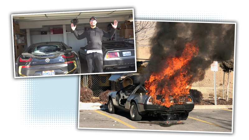 Illustration for article titled Why People Are Asking Questions About That Bizarre Viral DeLorean Fire
