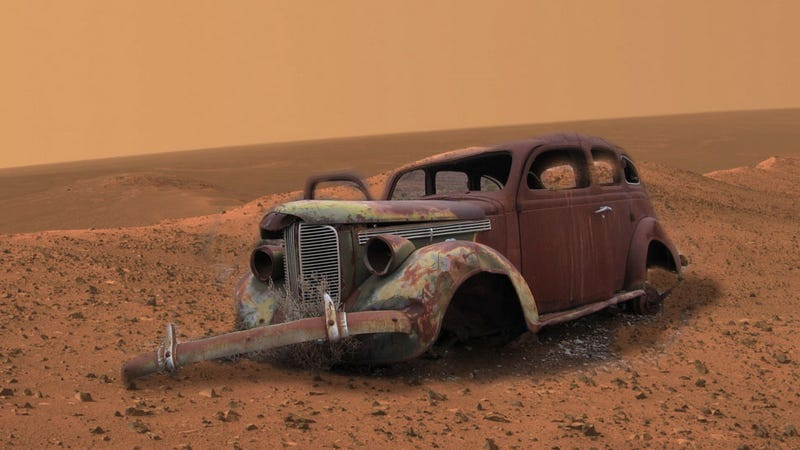 Illustration for article titled Thanks A Load, NASA, Now Cars Will Rust On Mars