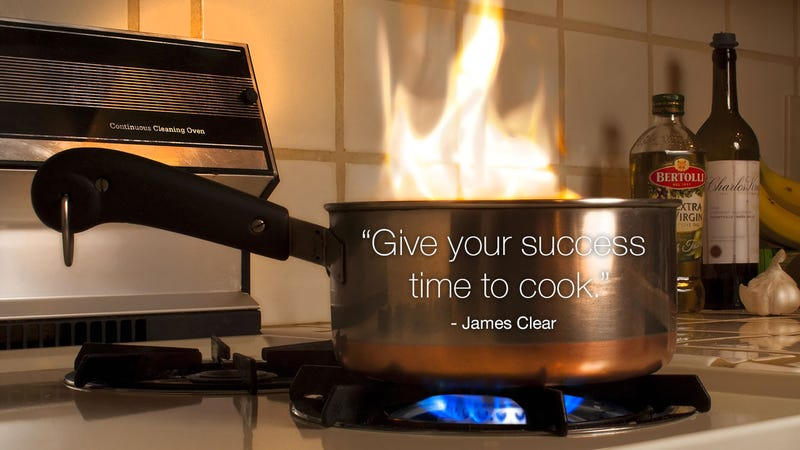 "Illustration for article titled ""Give Your Success Time to Cook"""