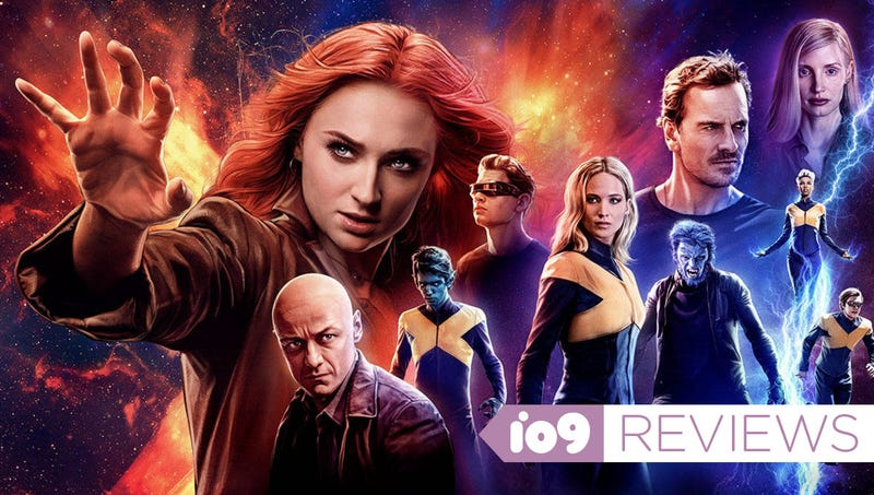 The cast of Dark Phoenix.