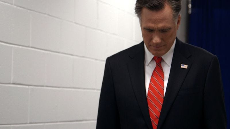 Illustration for article titled Mitt suggests that Mitt Romney might not be so fascinating