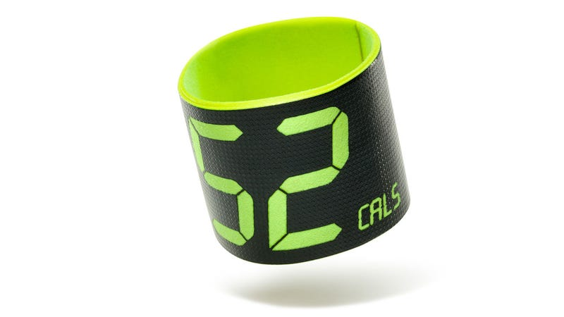 Illustration for article titled The First Nike FuelBand Prototypes Looked Like Humongous Sweat Bands