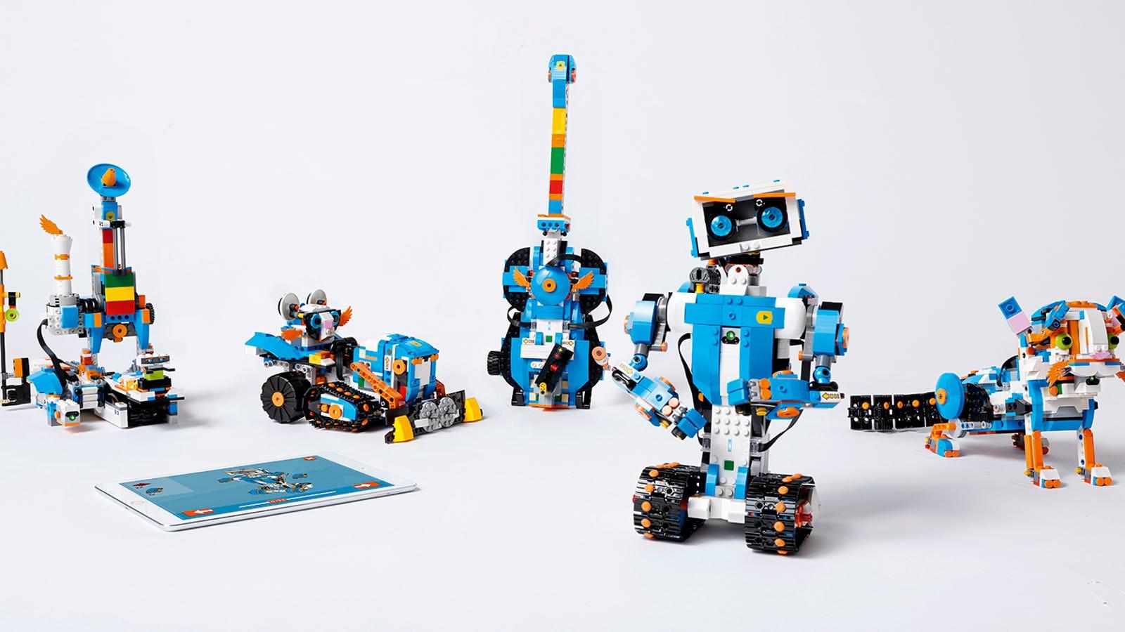 Building Crazy Lego Robots Has Never Been Easier