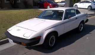 Illustration for article titled For $7,500, Is This The World's Nicest TR7, And Does That Matter?