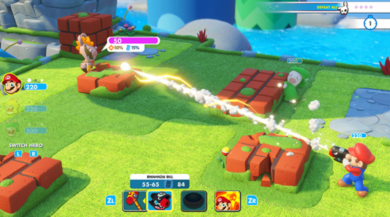 Mario + Rabbids Kingdom Battle | $21 | Amazon | $21 | Amazon| Clip coupon code