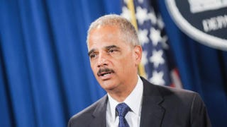 Eric Holder Kris Connor/Getty Images