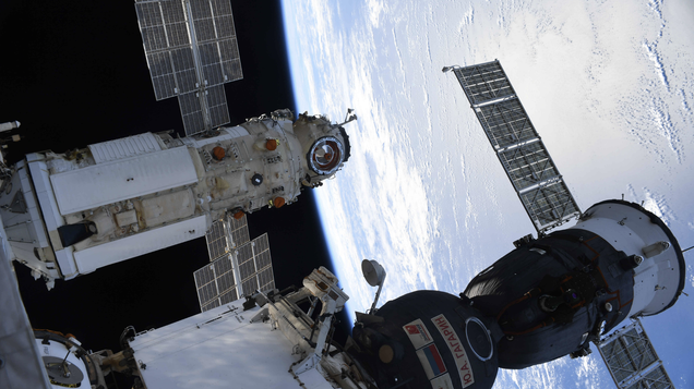 Russia Says Software Glitch Caused New ISS Module to Accidentally Fire Thrusters After Docking