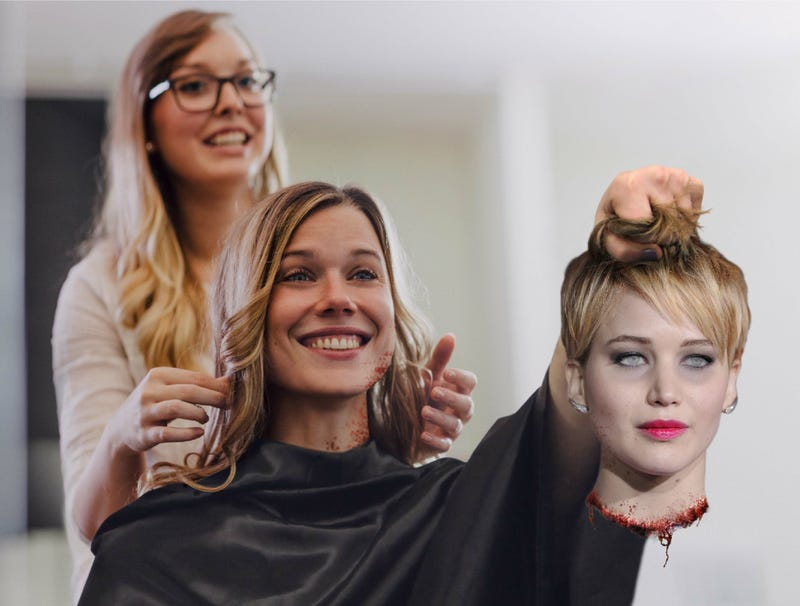 Illustration for article titled Woman Shows Hairstylist Example Of Haircut She Wants