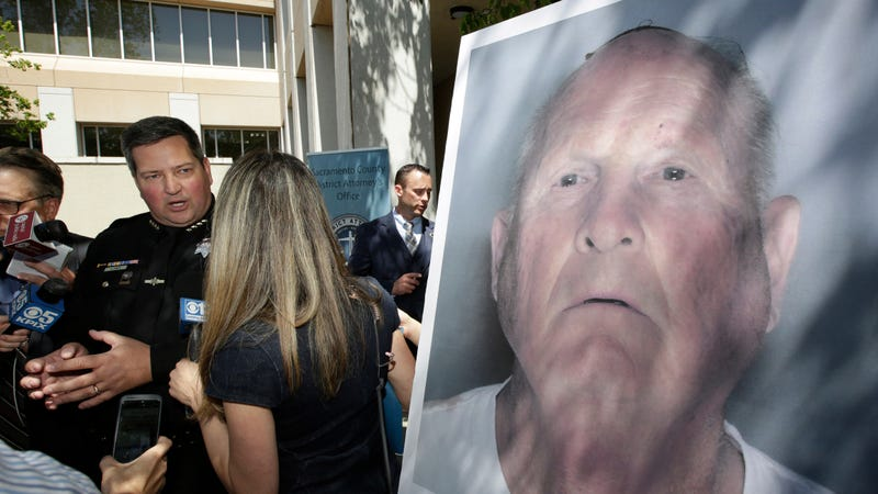 An undated law enforcement photo provided by the Sacramento County Sheriff's Office shows Joseph James DeAngelo, the suspected Golden State Killer.