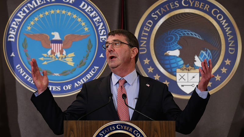 Former US Secretary of Defense Ash Carter.  Photo: Getty