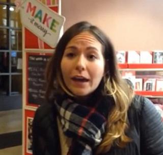 Jennifer Boyle during her Michaels breakdownYoutube screenshot