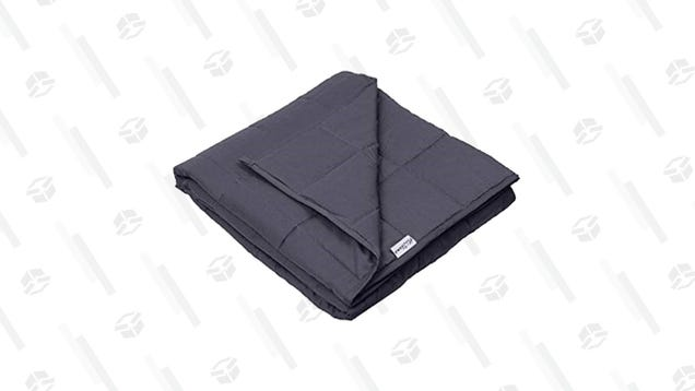 Grab a Cooling Weighted Blanket For a Decent $30