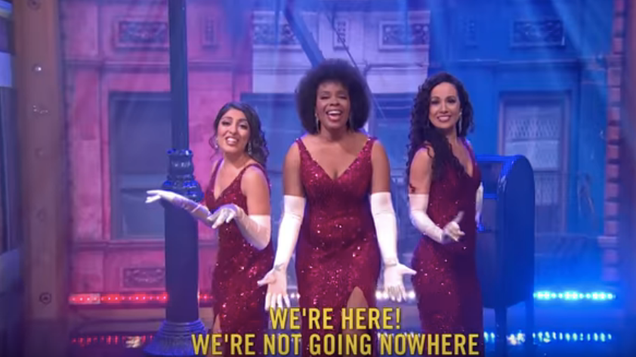Late Night's Amber Ruffin musically rebuts Trump's latest atonal racism