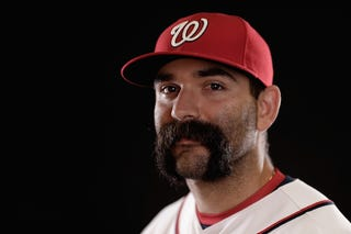 Illustration for article titled Let's Appreciate Danny Espinosa's Big, Beautiful Mustache