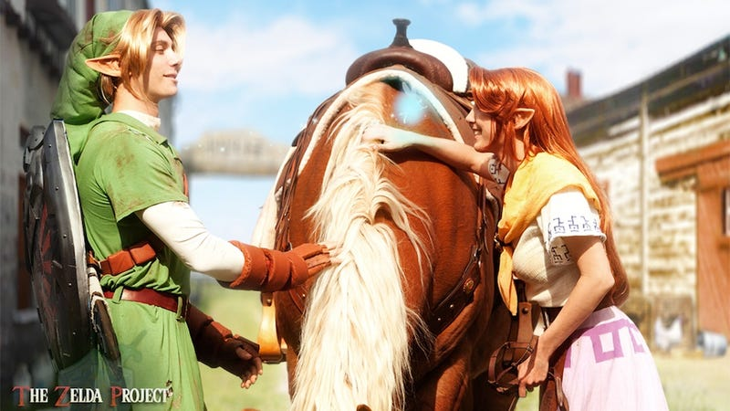 Illustration for article titled A Determined Group Sets Out To Recreate The Legend of Zelda In Real Life
