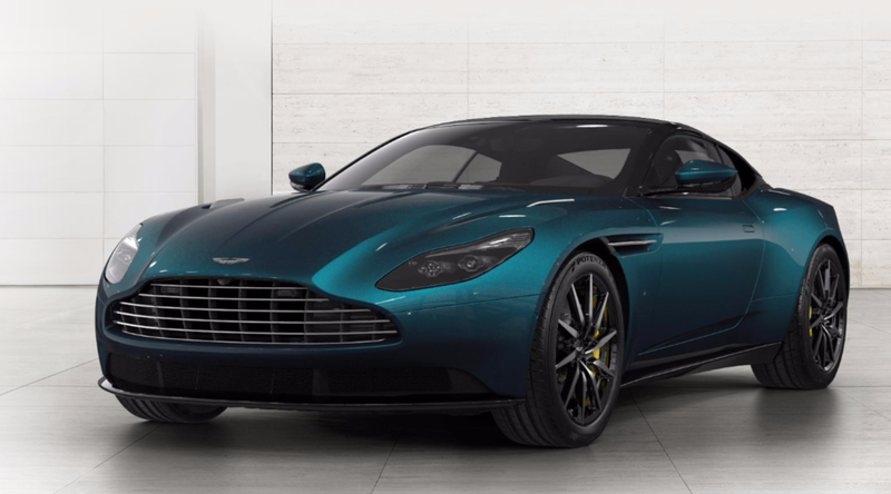 You Can Now Build Your Very Own Teal Aston Martin DB - Build your own aston martin