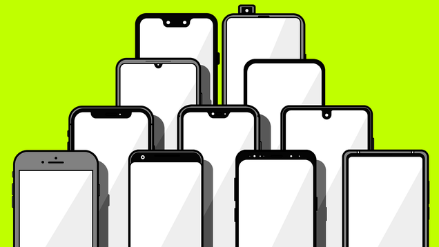 The Incredible Evolution of the Smartphone Notch: From Bezels to All Screen