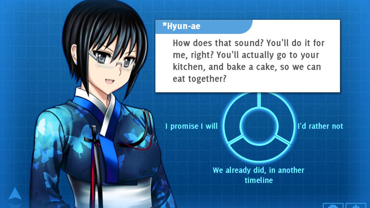 Gaming\'s most honest romance has you bake a real cake for virtual love