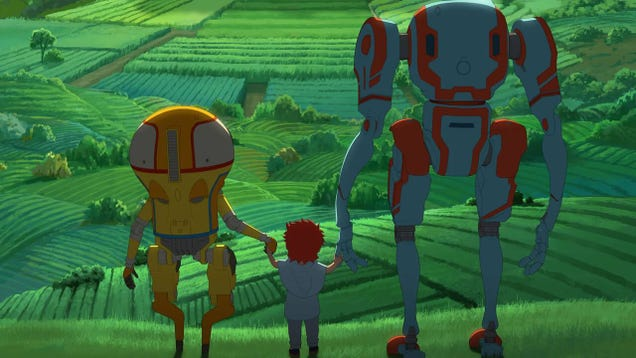 Netflix s Anime Eden Shows the Robot Apocalypse Can Be Beautiful
