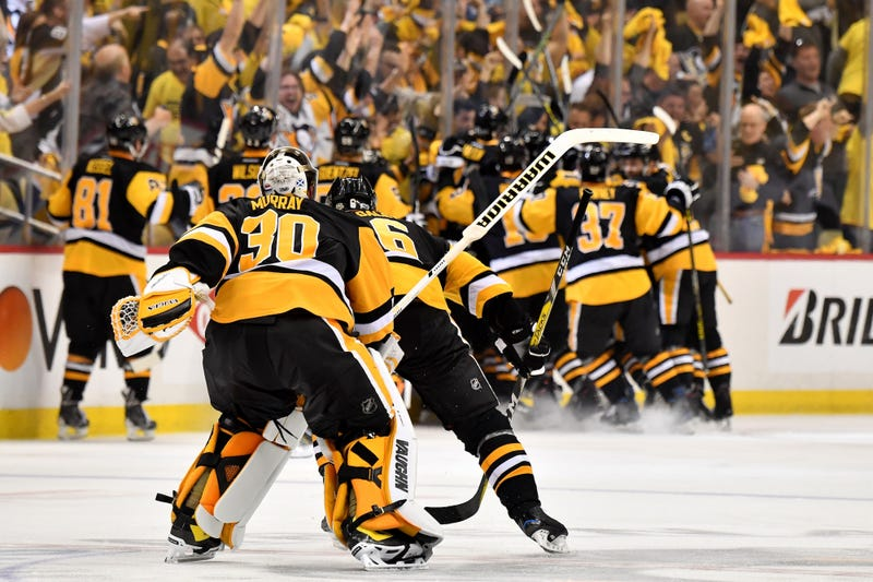Kunitz is in there somewhere. Photo: Jamie Sabau/Getty Images.