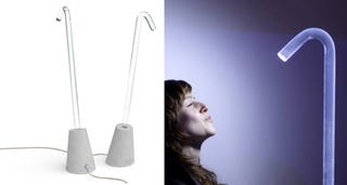 Illustration for article titled Pole: Is This the Most Minimal Lamp Ever?