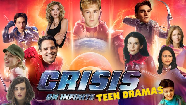 The crossover we've all been waiting for: Classic WB teen dramas collide!