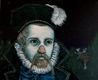 Illustration for article titled The crazy life and crazier death of Tycho Brahe, history's strangest astronomer