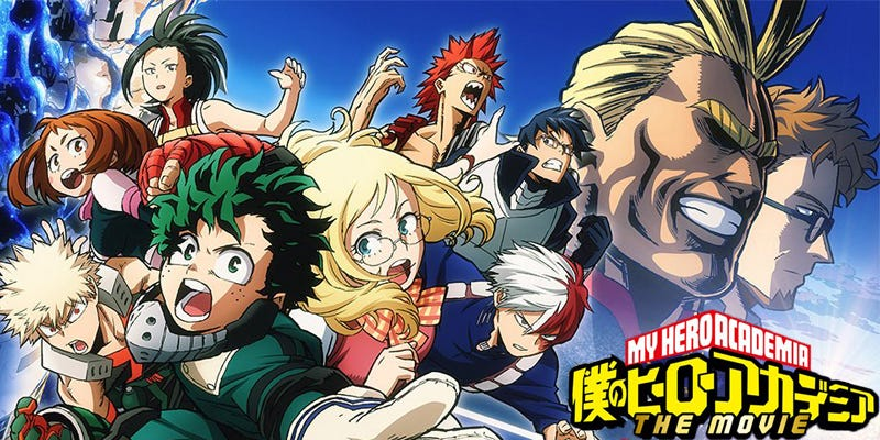 Deku and the gang are ready to make their big screen debut.