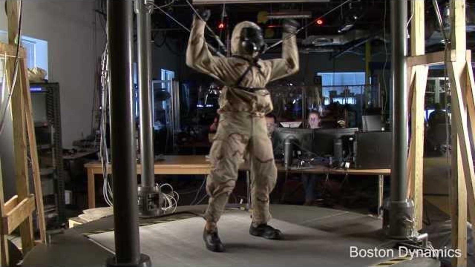 Sí, Terminator existe, y prueba trajes contra ataques químicos