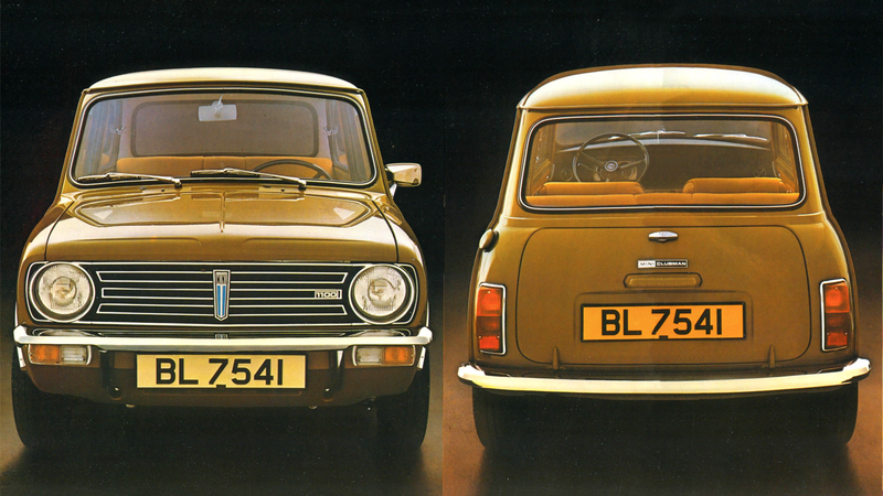I never minded the look of the Mini Clubman, but it is sort of the automotive equivalent of how that