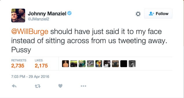 Johnny Manziel Has Some Thoughts To Get Off His Chest