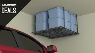 Illustration for article titled Extra Garage Storage, Versatile $8 Wrench, Huge Tool Sets