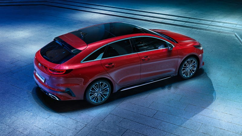 Illustration for article titled The 2019 Kia ProCeed Is Yet Another Gorgeous European Wagon We Won't Get