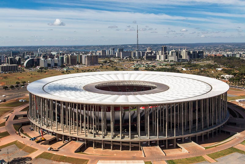 Illustration for article titled Why Your World Cup Stadium Sucks: Estádio Nacional, Brasília