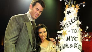 Illustration for article titled Kim Kardashian And Kris Humphries Were Able To Tolerate Each Other For 72 Days