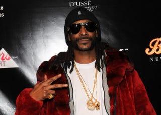 Snoop DoggJag Gundu/Getty Images