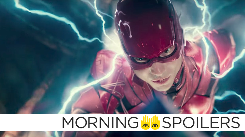 Barry Allen gets his speedforce on in Justice League.