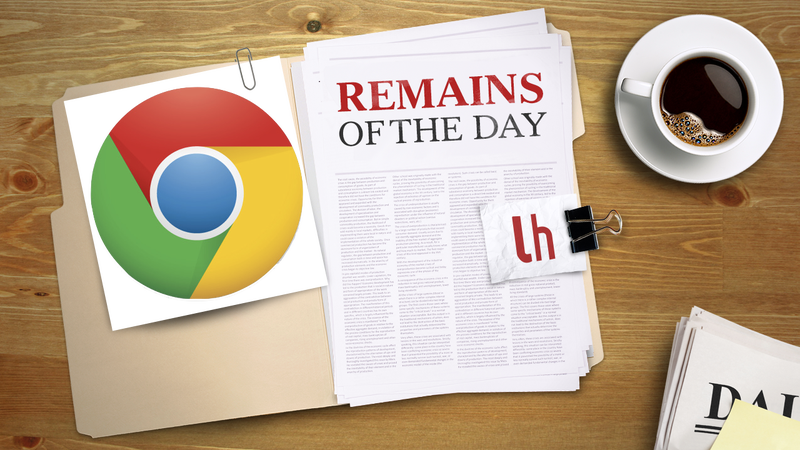 Illustration for article titled Remains of the Day: New Chrome Beta Brings Voice Commands to Web Apps