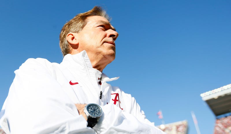 Illustration for article titled I Wrote The Nick Saban Biography. Come Ask Me Stuff About Him.