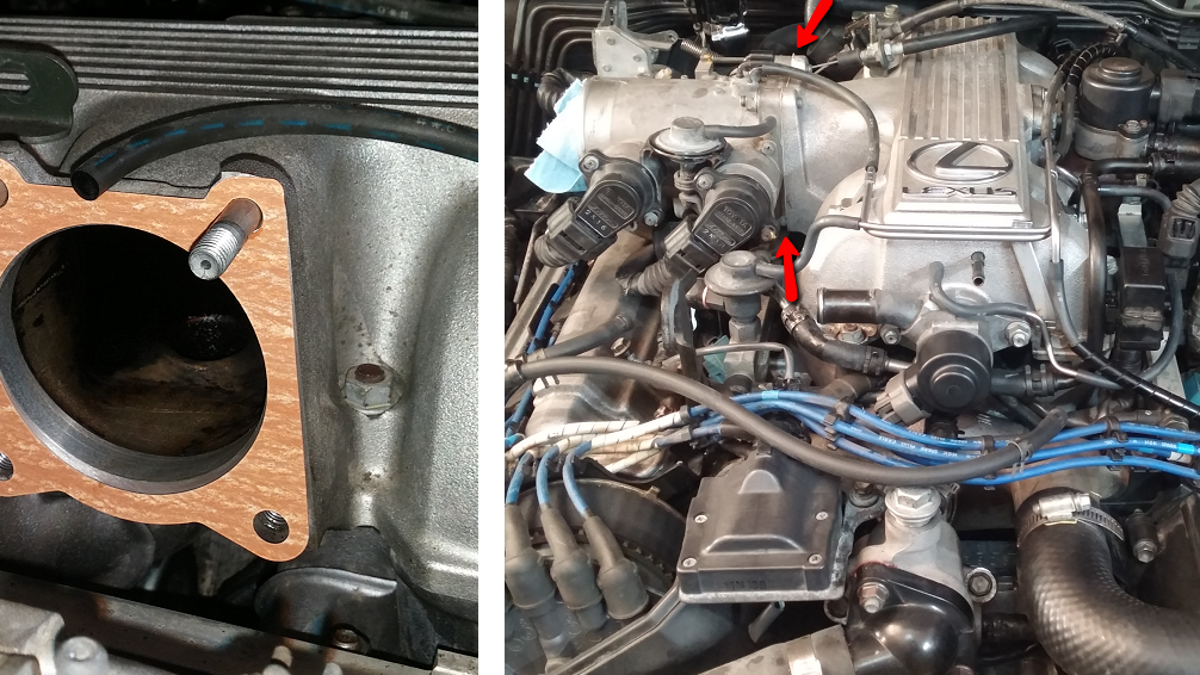 How To Make The Lexus Ls 400 As Reliable Everyone Thinks It Is 1994 Toyota Engine Intake Diagram