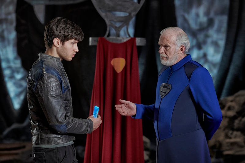 Cameron Cuffe and Ian McElhinney star in Krypton