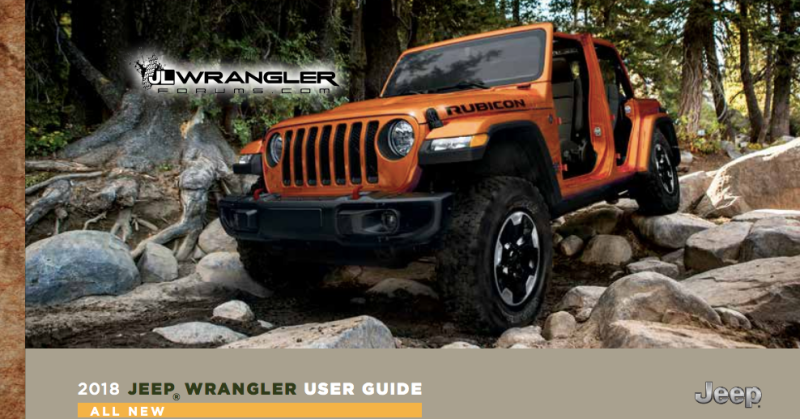 2018 jeep liberty sport. Simple Jeep The Most Interesting Stuff We Found In Leaked 2018 Jeep Wrangler  Owneru0027s Manual For Jeep Liberty Sport