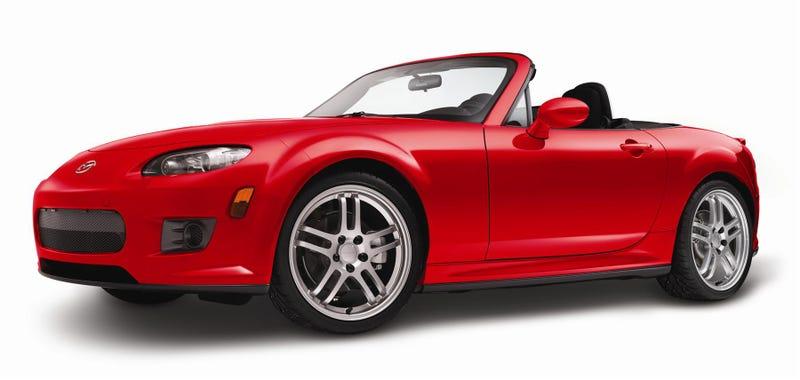 I forgot Mazda made a body kit for the NC Miata