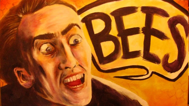 Illustration for article titled Nic Cage, God of Acting