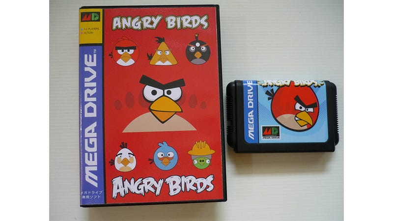 Illustration for article titled Want to Buy Angry Birds On The Sega Genesis?