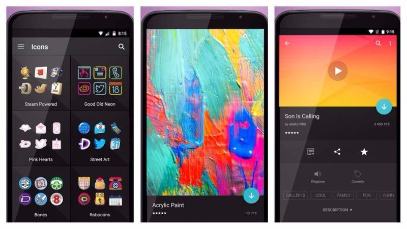 Illustration for article titled Zedge es la mejor app para Android que puedes probar esta semana