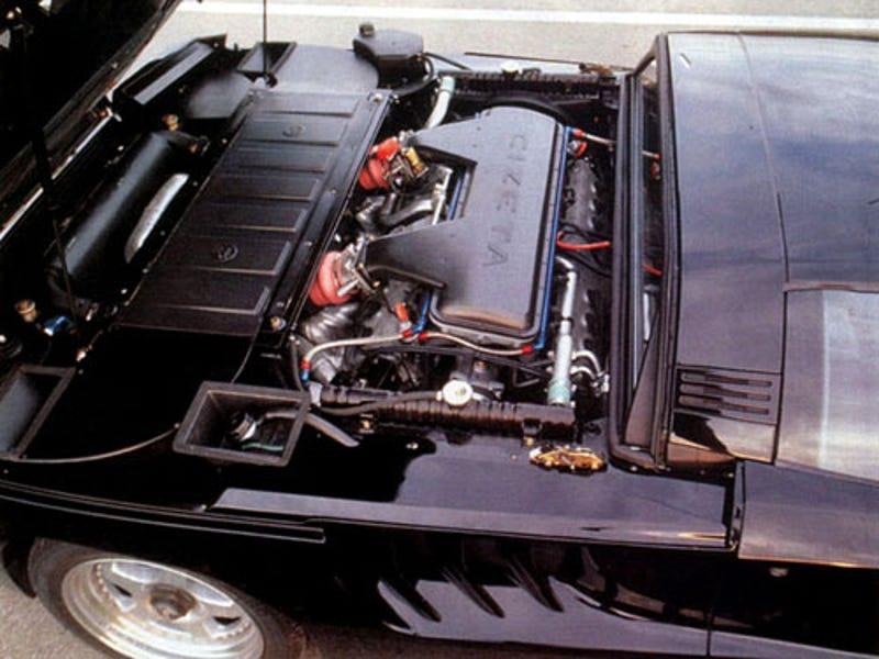 Cizeta V16t Horsepower