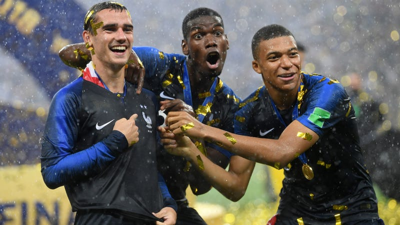 """Illustration for article titled Literal Baby-Name Police Won't Let French Couple Name Their Kid""""Griezmann Mbappé"""""""