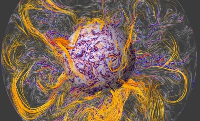 Illustration for article titled El campo magnético terrestre no para de moverse, y ahora sabemos por qué