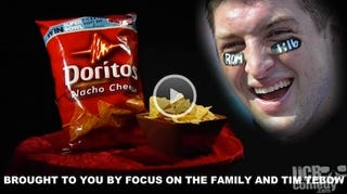Illustration for article titled What Would Happen If Tim Tebow Partnered With Doritos?